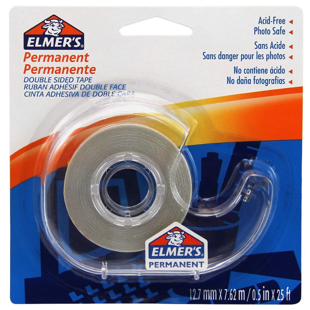 Elmer S Permanent Double Sided Tape By Elmers Michaels Tape Craft Supplies Buy Fabric