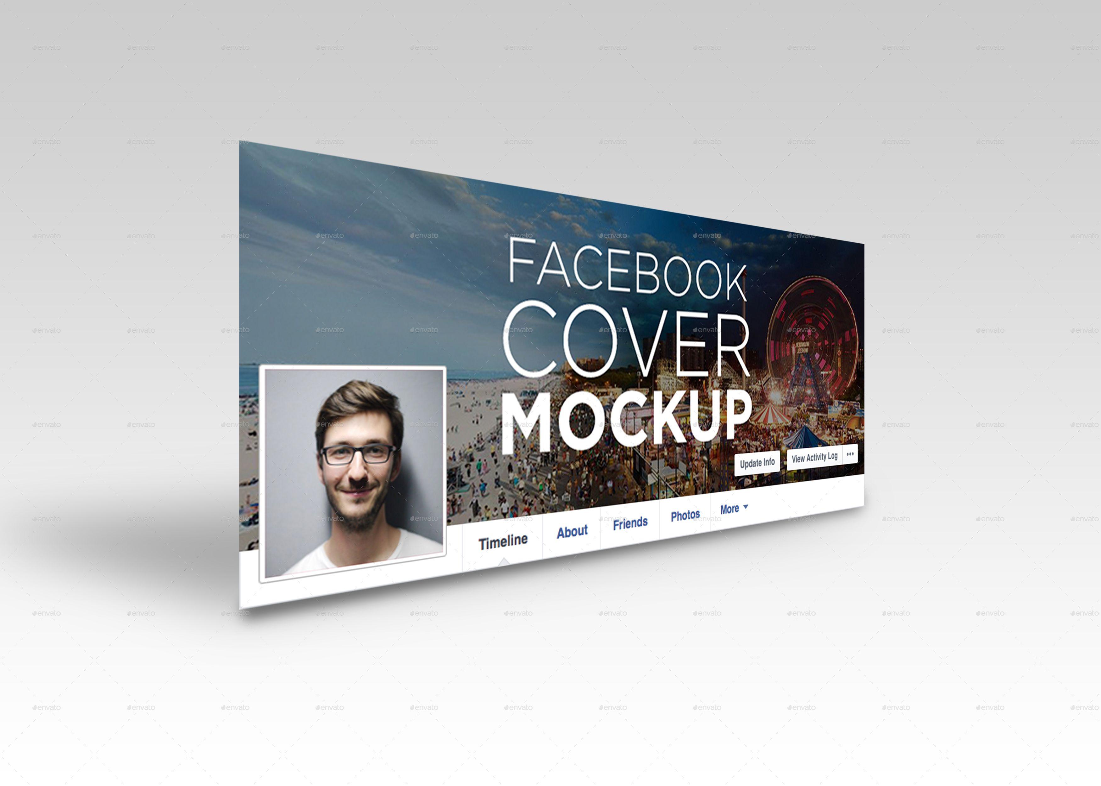 Facebook Cover Mockup Facebook Cover Facebook Timeline Covers Mockup