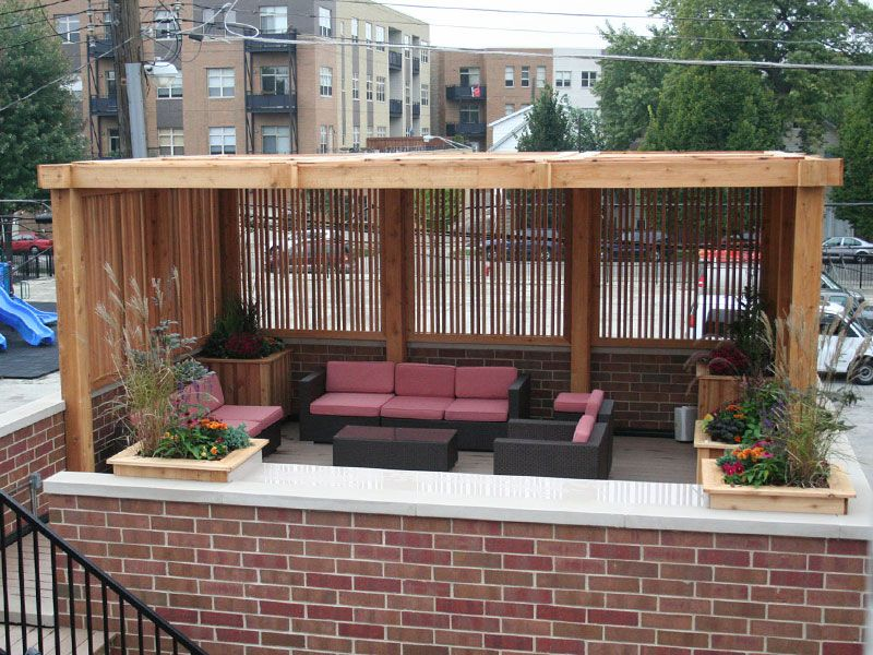 20 magnificient roof top desings for you home penthouse for Pinterest garden rooms