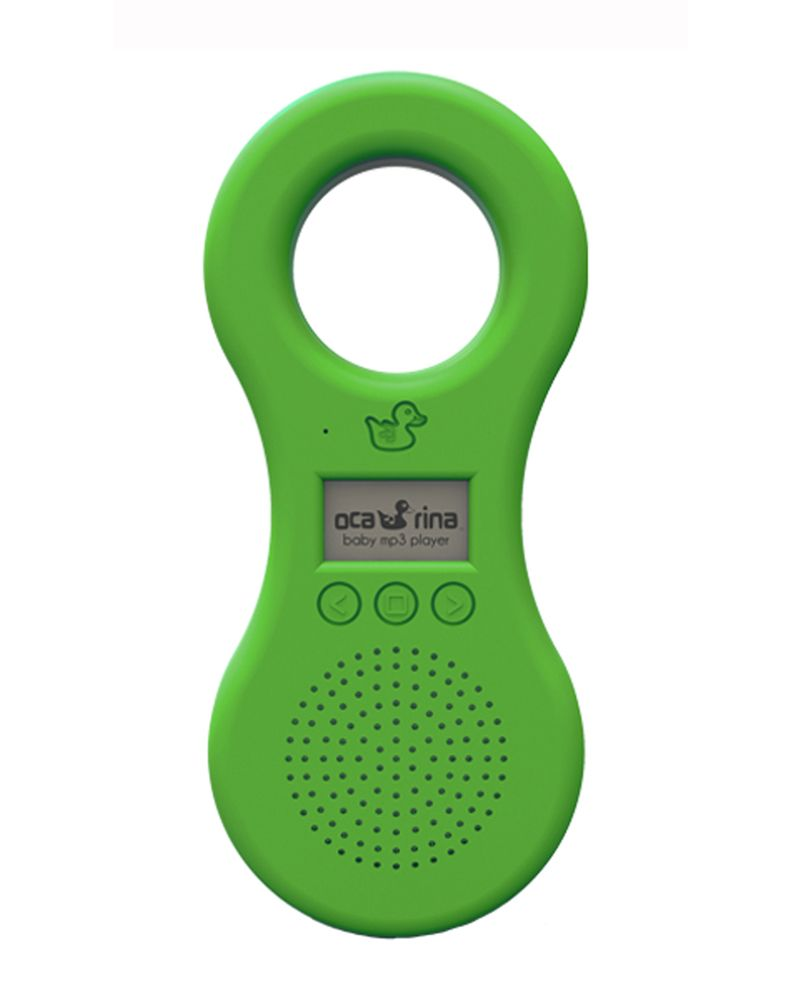 Ocarina Baby Kids Mp3 Player Green With Built In Speaker