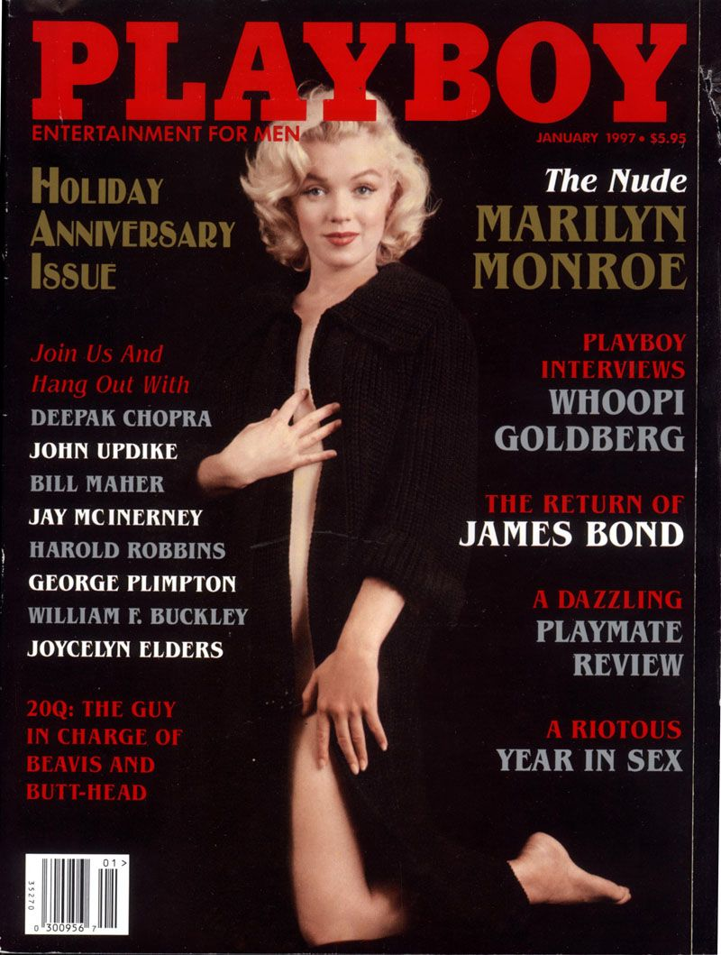 MARILYN MONROE VINTAGE MAGAZINE COVERS