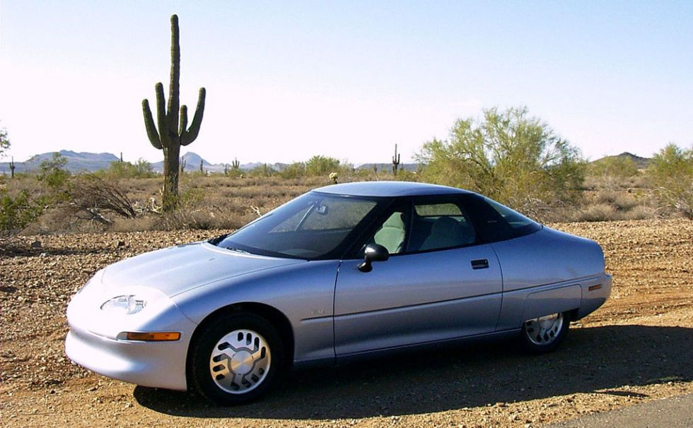 7 Gm Ev1 The First Highway Capable M Produced Electric Vehicle 1996