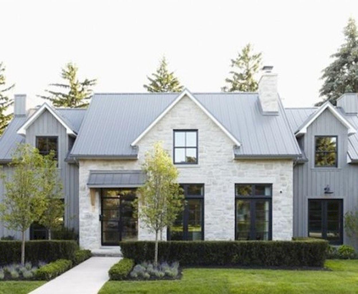 70 stunning farmhouse exterior design ideas (64 | Exterior design ...