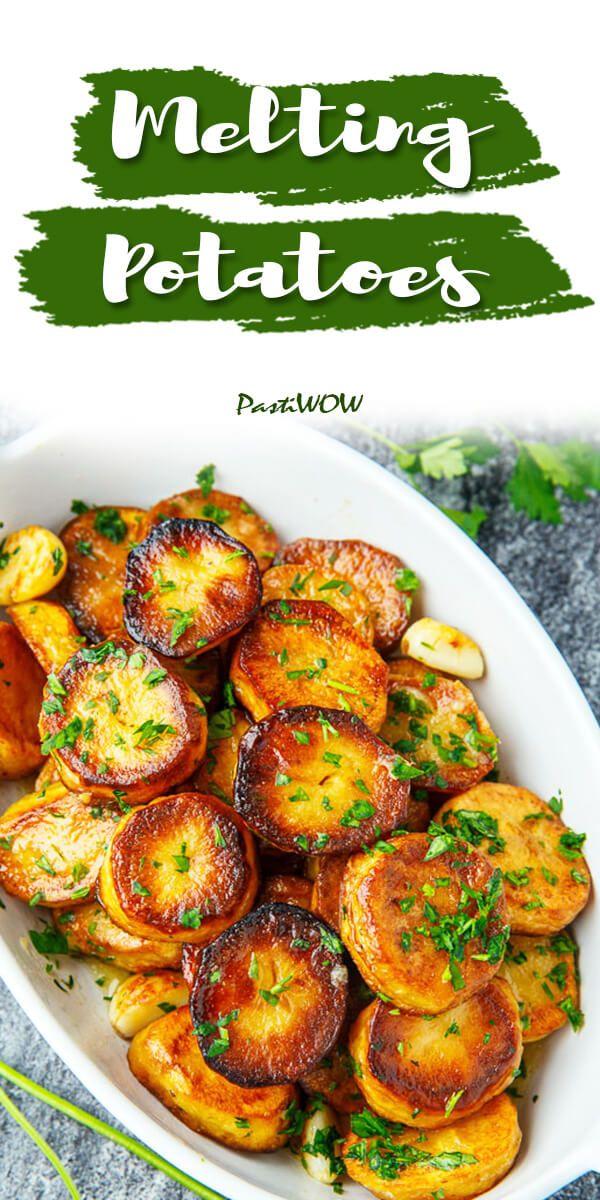 Super Easy Melting Potatoes Recipes #russetpotatorecipes