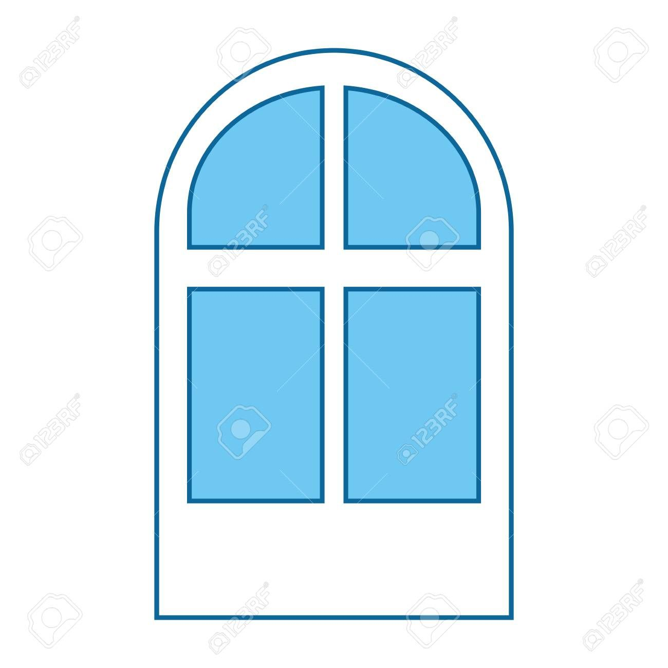 window icon over white background vector illustration Illustration