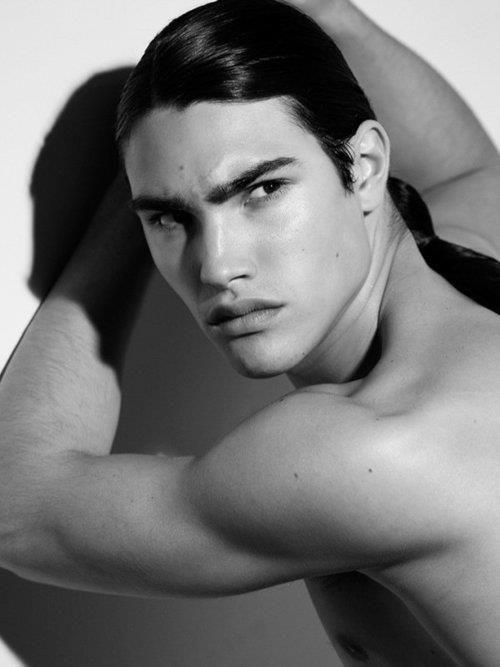 Michael Hudson Long Hair Men Hot Men