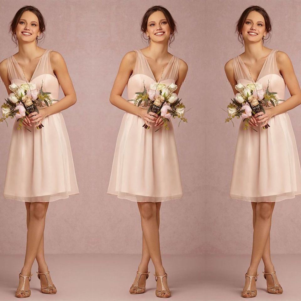 Find More Bridesmaid Dresses Information about B13 Light Pink/Blush ...