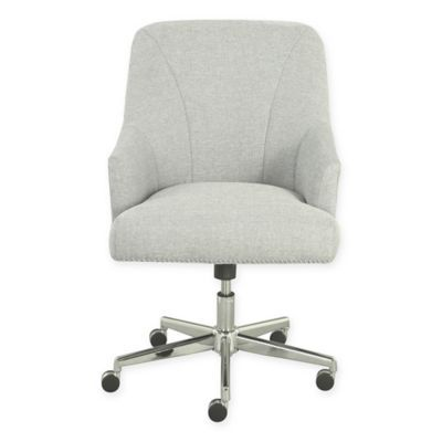 Serta Leighton Home Office Chair In Ivory Home Office Chairs Chair Desk Chair