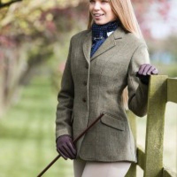 EQUETECH CLAYDON TWEED RIDING JACKET