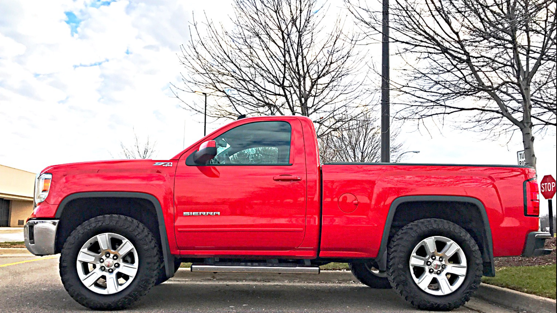 2015 Gmc Sierra Z71 4x4 Regular Cab Leveled With Stock 20s On 35