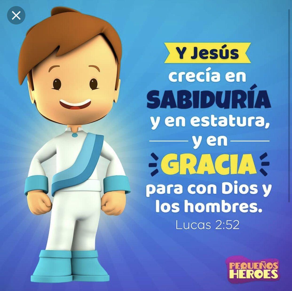 Pequeños Héroes Versiculos Para Niños Citas Biblicas Para