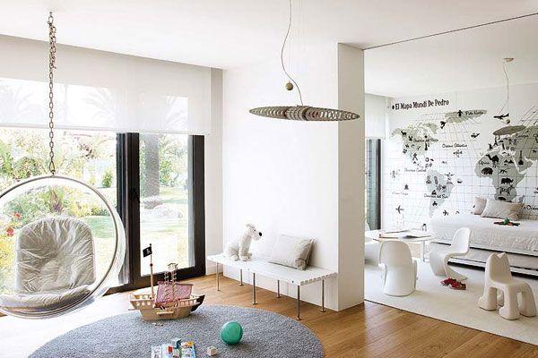 Ideas para decorar un cuarto de juegos para niños - Muebles y ...