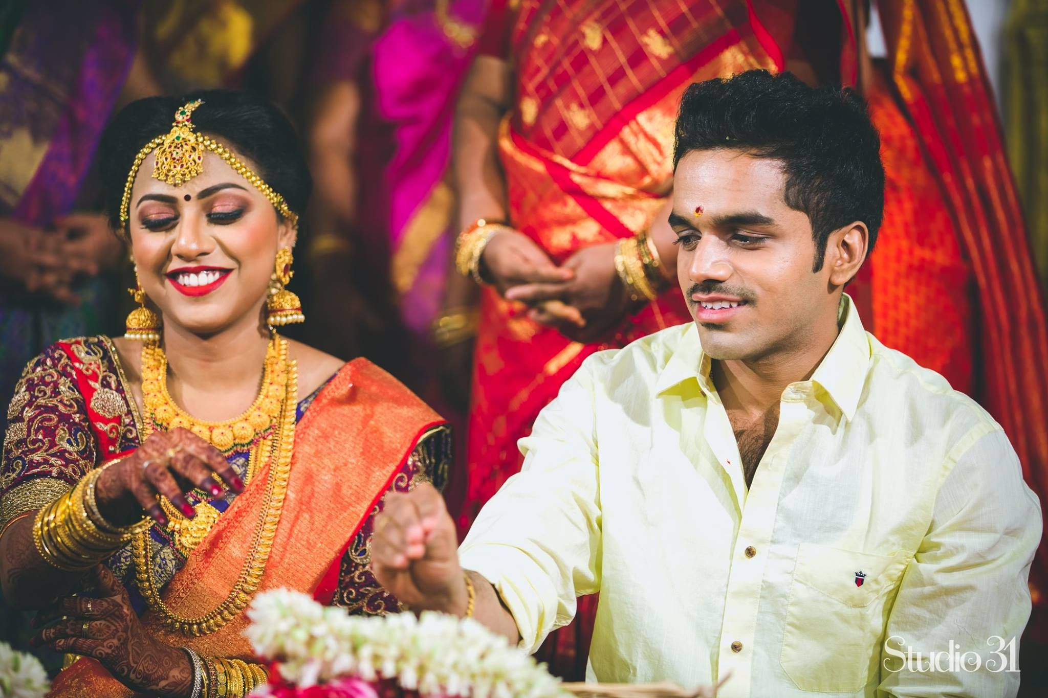 A charming wedding of two doctors south indian weddings weddings