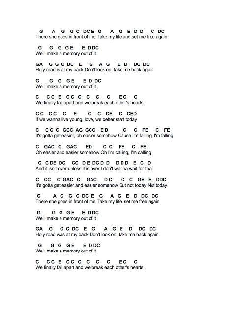 Flute Sheet Music For Today Lyrics Flute Sheet Music Imagine