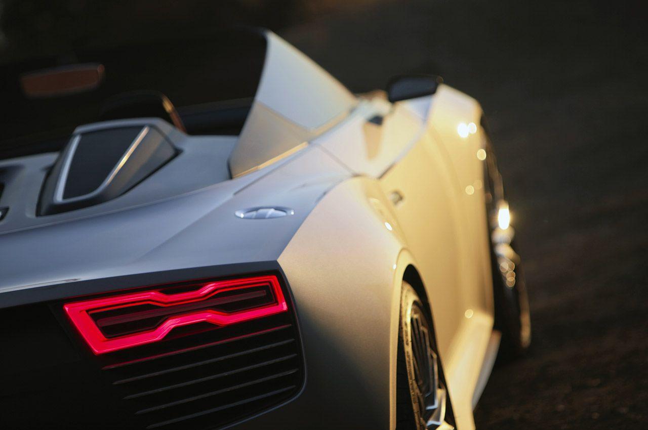 Audi e-tron Spyder.