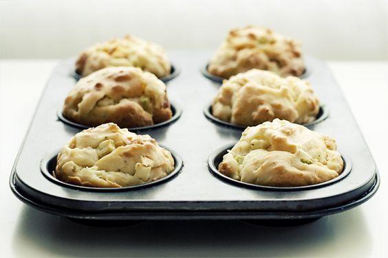 Muffins salados de calabacín | Fotomerienda