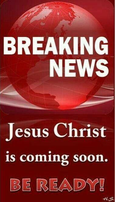 I am coming soon. - Jesus in Revelation 3:11