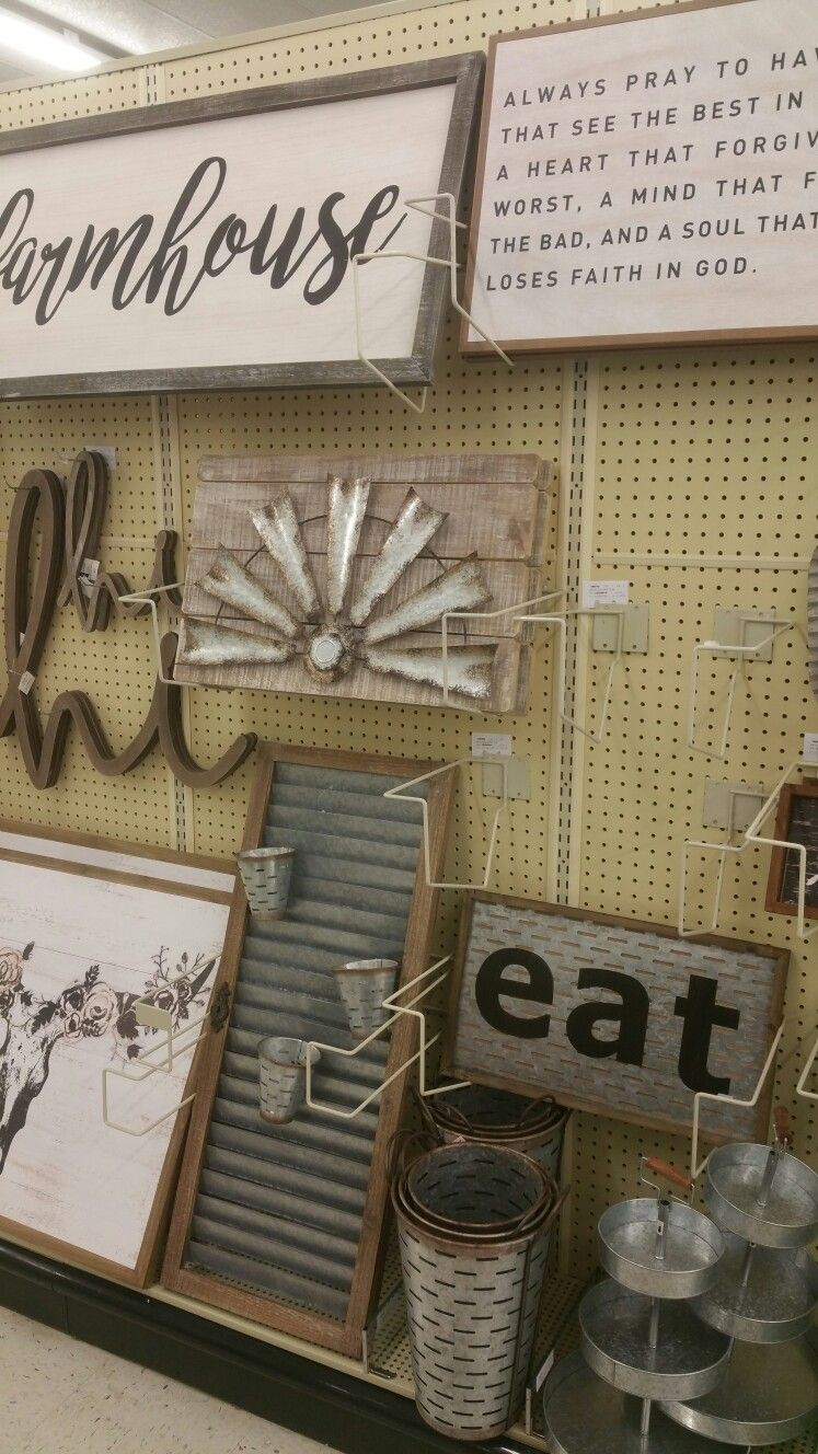 Hobby Lobby Feb 2017 Farmhouse decor, Farmhouse kitchen