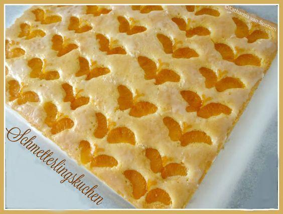 ich hab da mal was ausprobiert Schmetterlings  Kuchen