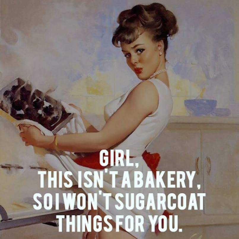 This isn't a bakery...