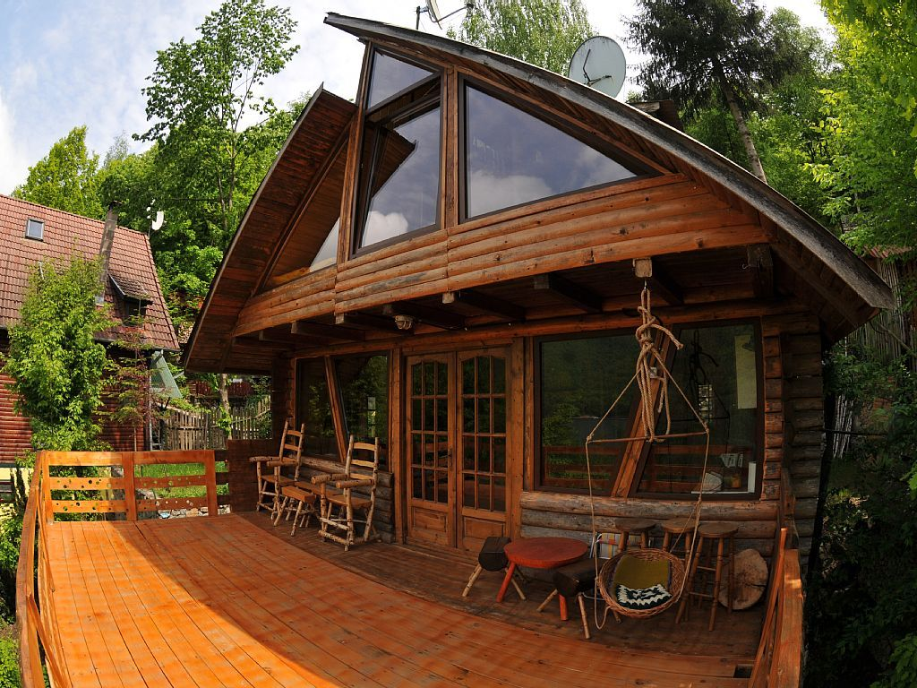 Charming cabin on mountain lake near cluj vrbo with