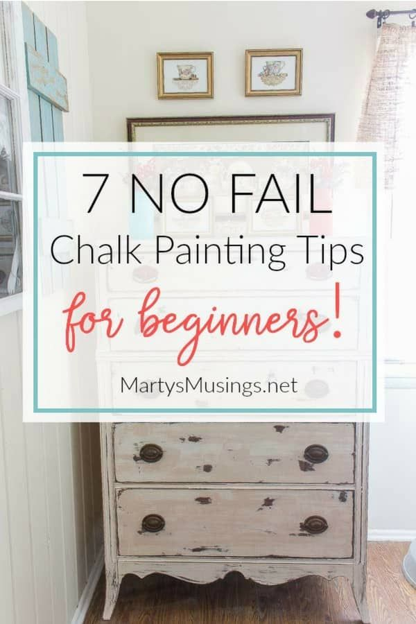 7 Chalk Painting Tips For Beginners Supplies You Must