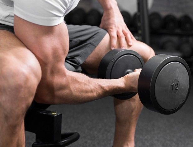 how to get your biceps bigger without weights