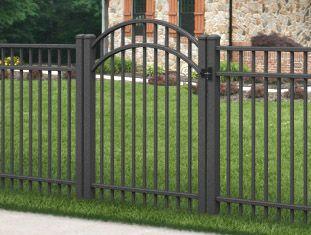 Gates Aluminum Gates Wrought Iron Gates Driveway Gates Chain Link Gates Vinyl Gates Pvc Gates Wood Gates Jer Fenced In Yard Iron Fence Aluminium Gates