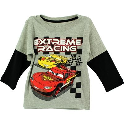 Disney Cars Boys Long Sleeves T Shirt