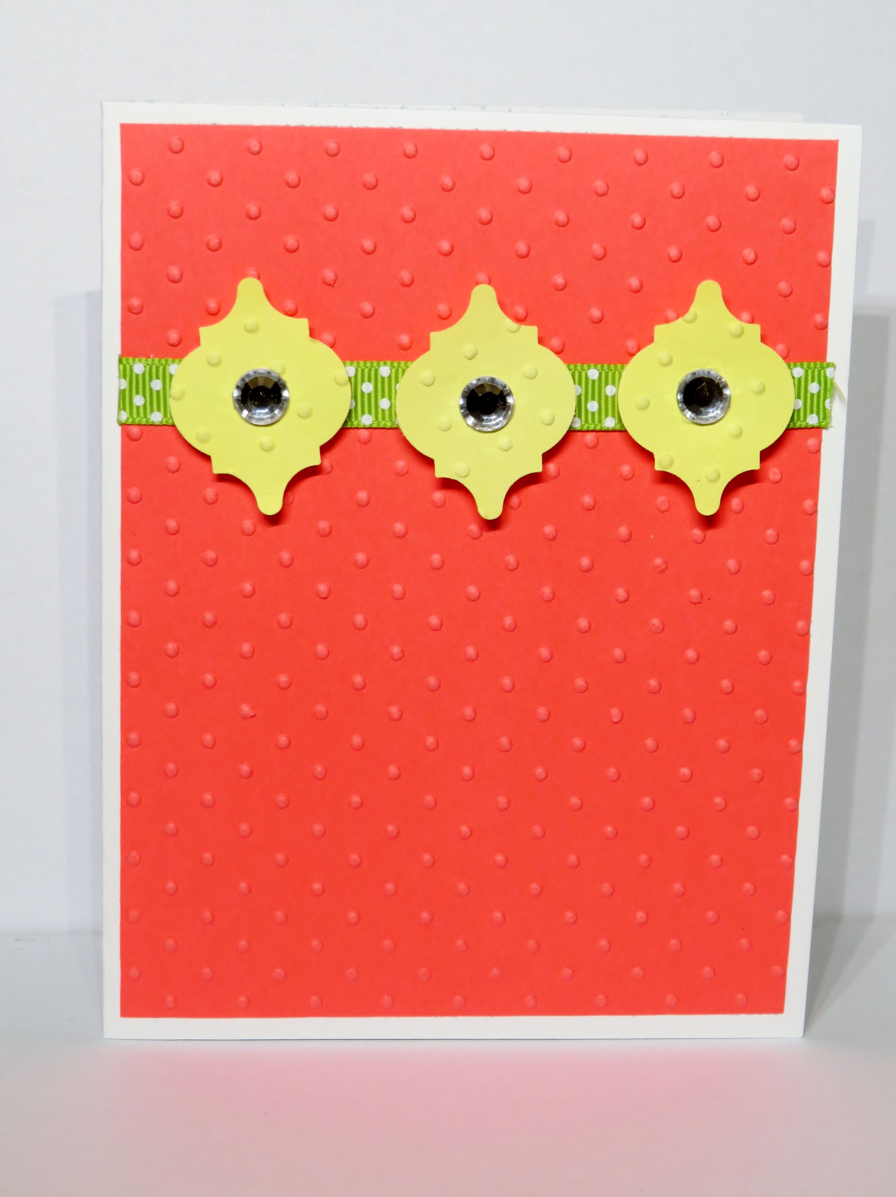 A Simple But Bright Card This One Makes Me Smile Handmade Greeting