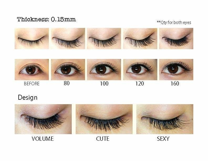 Image result for mink eyelash extension styles