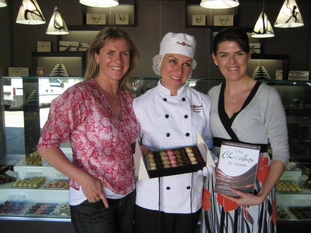 With the gorgeous Louisa from Cocoa Chocolat in Eumundi, QLD