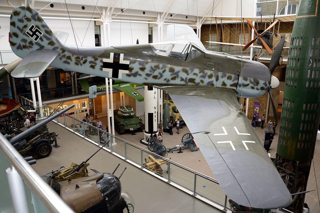 FockeWulf Fw190A8 733682 German Air Force. Imperial War