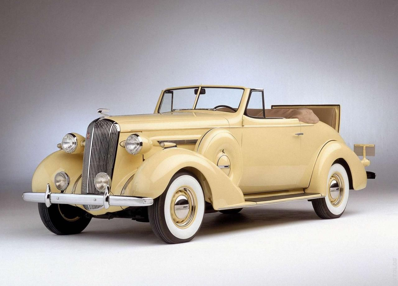 1936 buick century series 60 convertible coupe with rumble seat