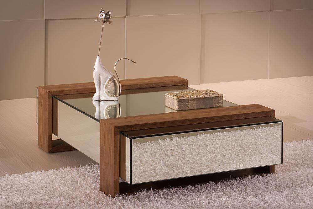 Mesa de Centro Espelhada Muebles Pinterest Centro, Mesas y De - mesas de centro de diseo