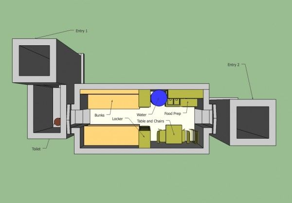 fallout shelter - overview | Bunker | Pinterest | Nuclear fallout ...