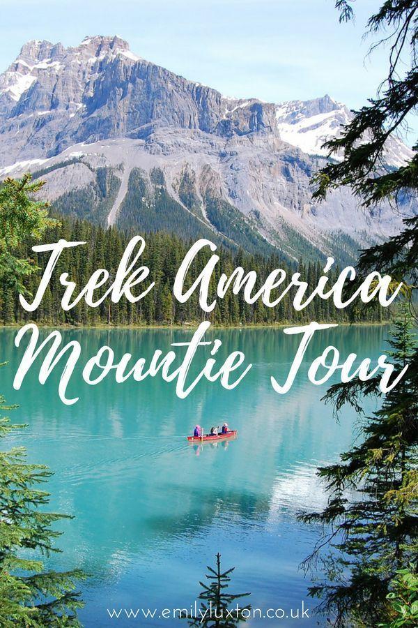 What to Expect on the Trek America Mountie Tour