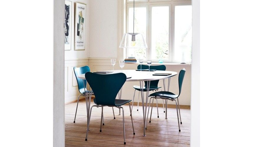 Fritz Hansen - B611 - Super-elliptique table 135cm Salon/Salle a