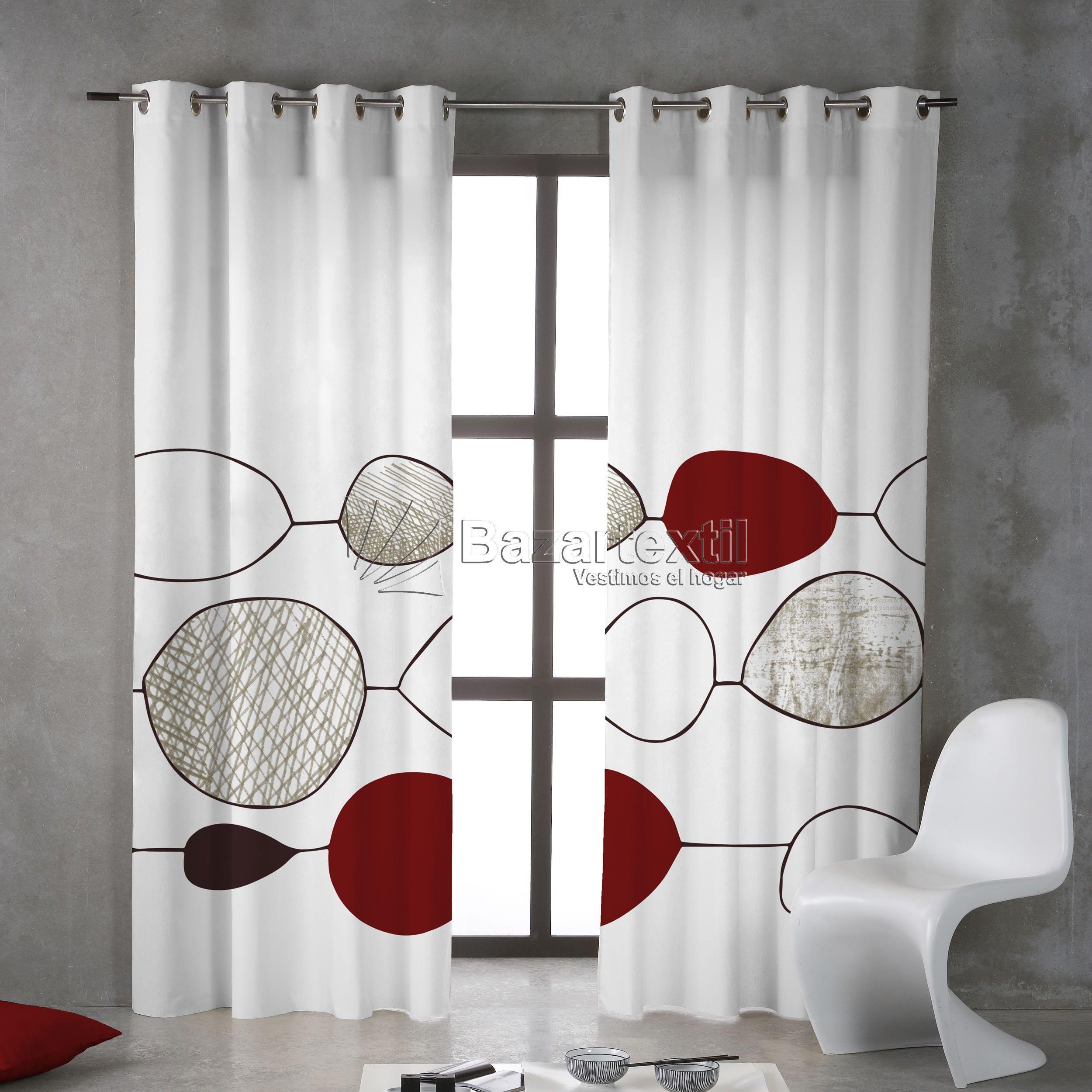 Estilo moderno para cortinas | Ideas para el hogar | Pinterest ...
