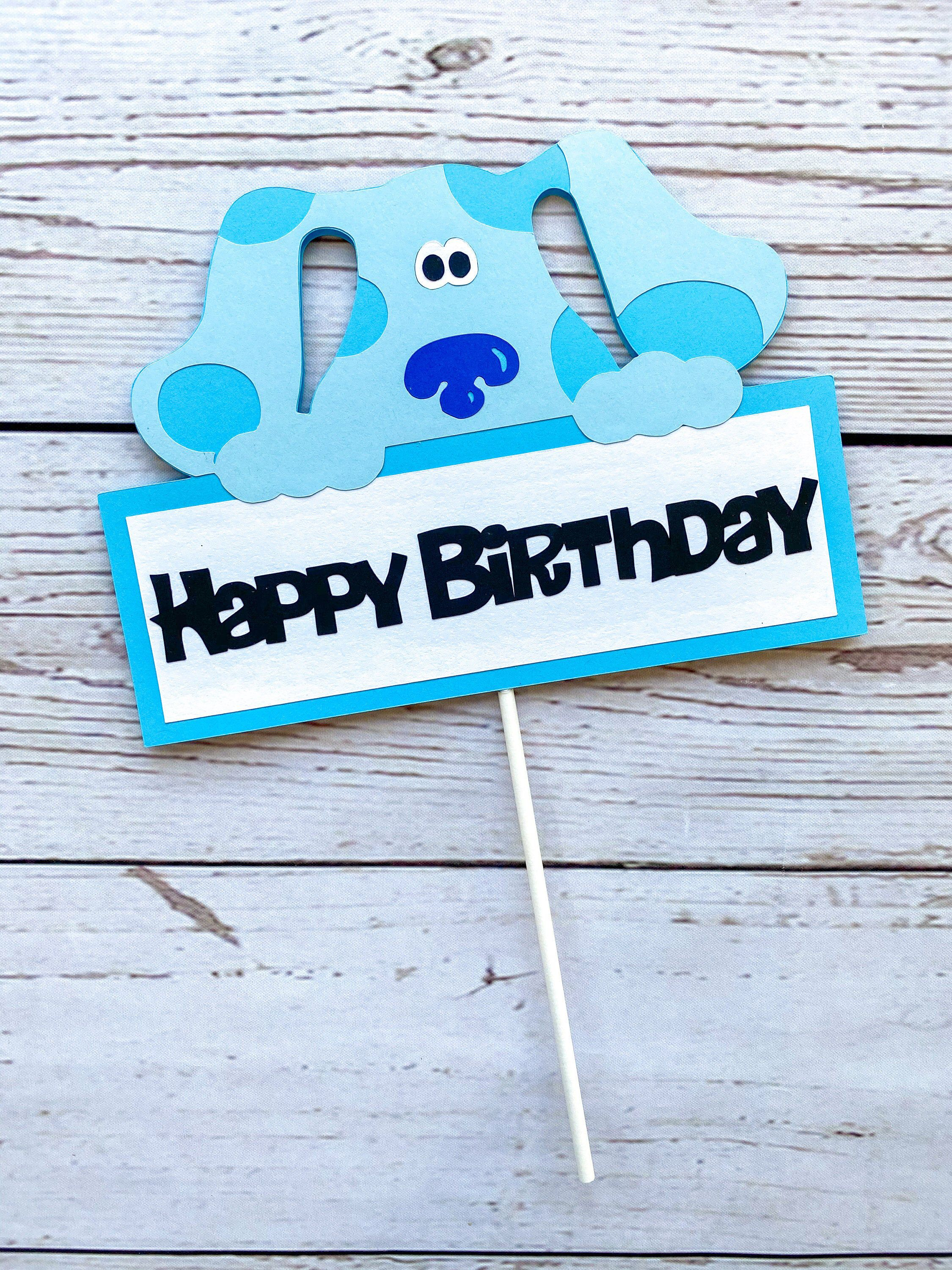 Blue's Clues Birthday : blue's, clues, birthday, Blues, Clues, Topper, Birthday, Party, Girl,, Themes,