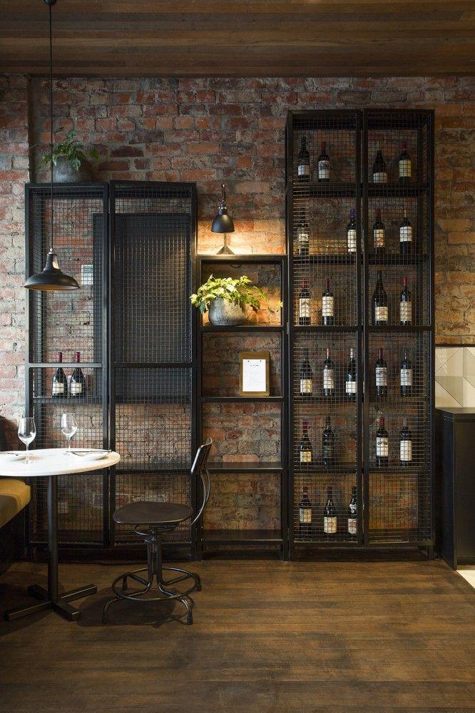 Gallery of the milton biasol 3 industrial design - Estanterias para bares ...