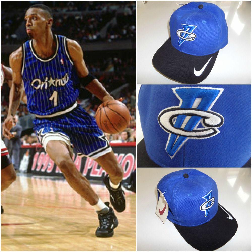 7a0badd2c8f 90 s Vtg Nike FOAMPOSITE ONE 1 Penny Hardaway Cap Hat Basketball Galaxy OG  NEW  Nike  CapHat