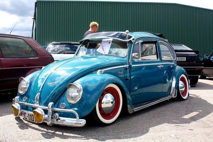 Cool Old Beetle With Images Vw Beetle Classic