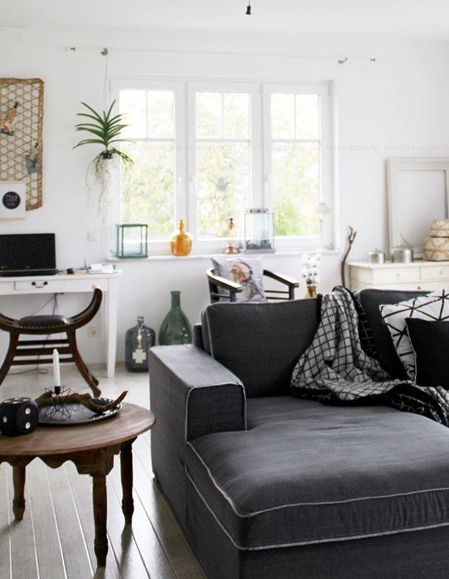 deko-donnerstag und unser neues! wohnzimmer = wohlfühloase (lady stil), Wohnzimmer