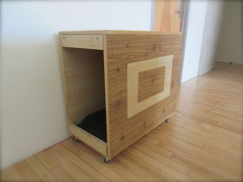 Diy Modern Litter Box Hider Woodworking Com Blog Ikea Hack