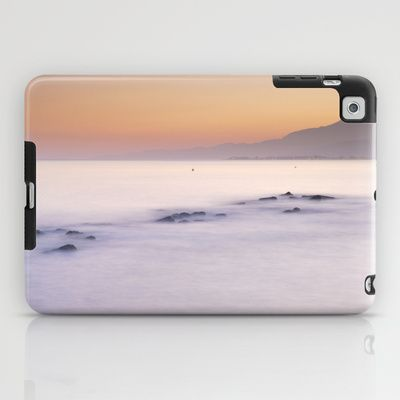Little islands at sunset iPad Case by Guido Montañés - $60.00