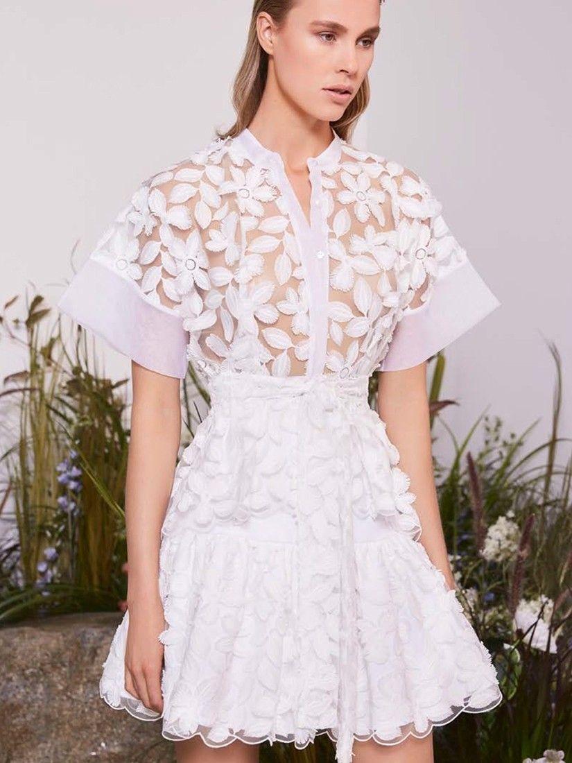 0e4b8adc Alexis Clothing 'Danelle Top White Embroidery' Tops  Shop Splash  www.shopsplash.com