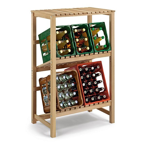beechwood drink rack cellar pinterest buchenholz regal getr nke. Black Bedroom Furniture Sets. Home Design Ideas