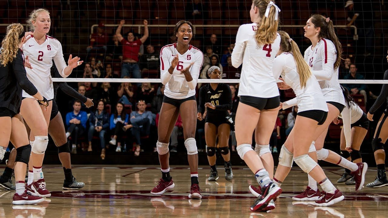 Stanford Women S Volleyball Makes Yet Another Ncaa Final Four Appearance Women Volleyball Stanford Volleyball Female Volleyball Players