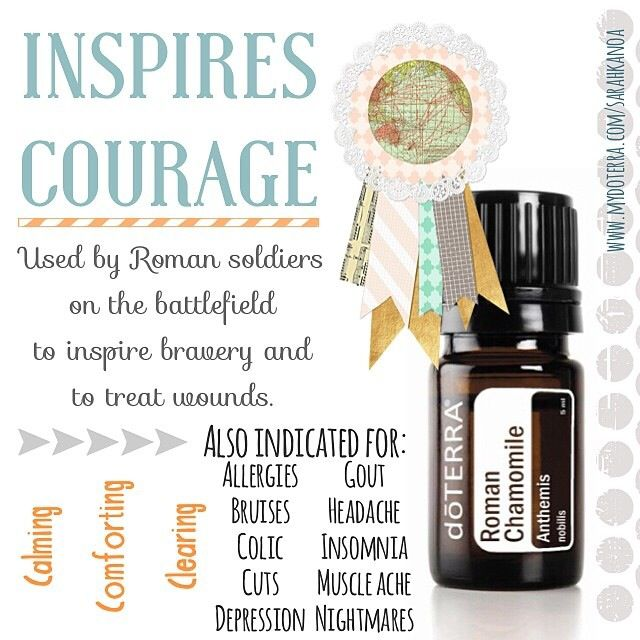 Dōterra Roman Chamomile Essential Oil Calming Soothing